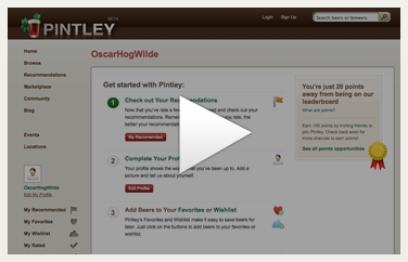 Introducing Pintley's Personalized Beer Recommendations